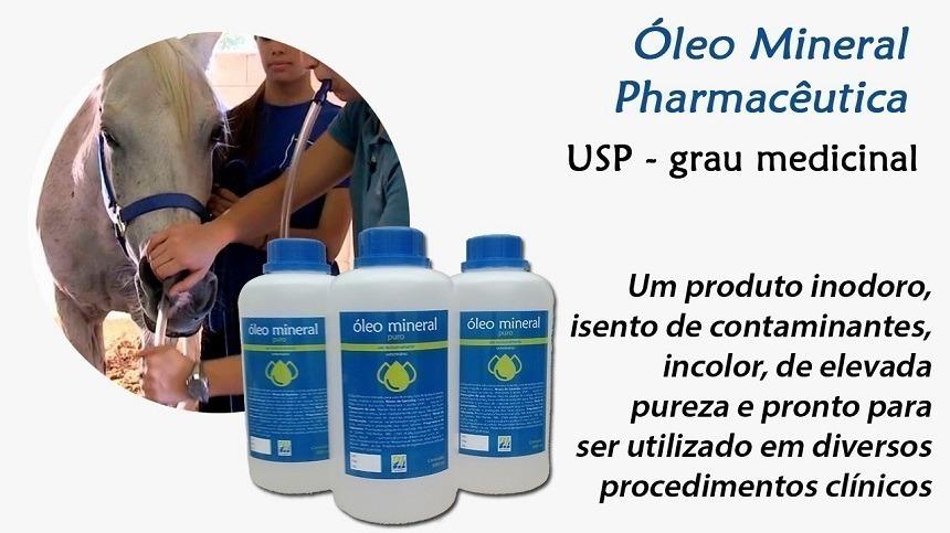 O que é o Óleo Mineral USP da Pharmacêutica?
