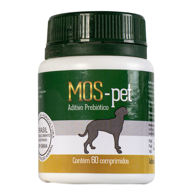 Aditivo Prebiótico para Cães e Gatos - MOS Pet